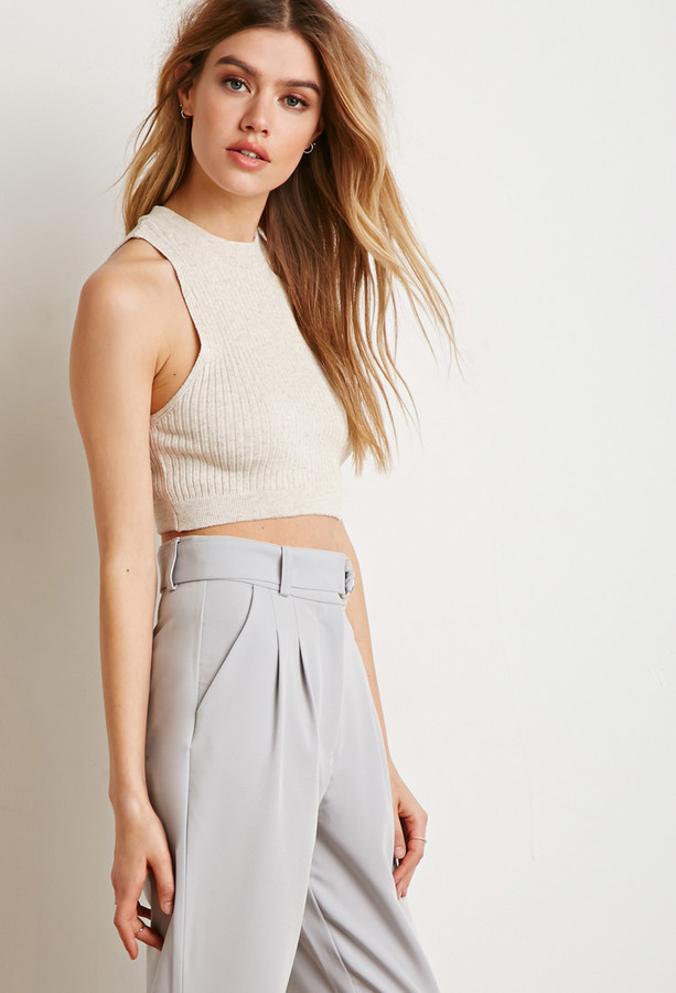 Forever 21 Ribbed Knit Crop Top Where To Buy How To Wear