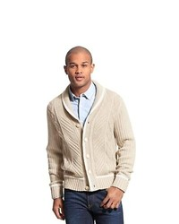 Tommy Hilfiger Cable Shawl Neck Cardigan