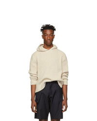 Jacquemus Off White La Maille Capuche Hoodie