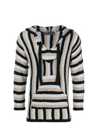 The Elder Statesman Striped Knit Jumper