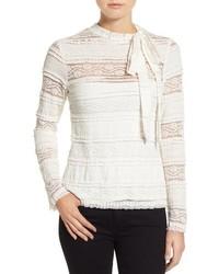 CeCe Lace Knit Top