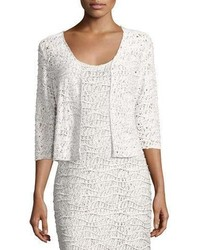 Blaire variegated knit crop cardigan medium 3719272