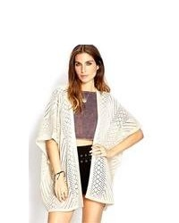 Forever 21 Cozy Open Knit Cardigan