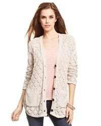 Jessica Simpson Roana Open Knit Cardigan