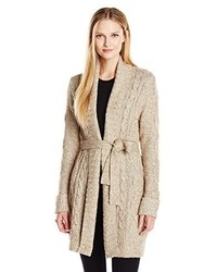 NYDJ Cable Belted Sweater Cardigan