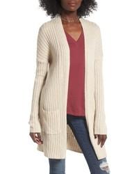 Rib knit cardigan medium 4952314