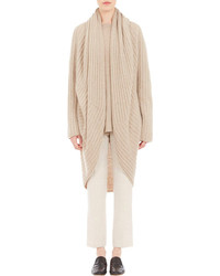 The Row Rib Knit Ilia Cocoon Cardigan