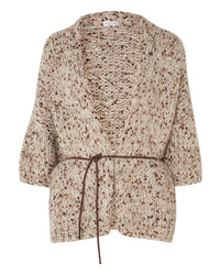 Brunello Cucinelli Sequined Chunky Knit Cardigan