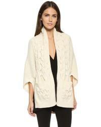 Zero maria cornejo cable knit sweater medium 426124