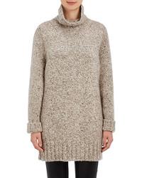 The Row Cashmere Oversized Turtleneck Sweater