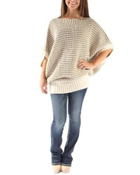 Le Lis Oversized Knit Sweater