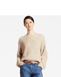 Mohair blend oversized sweater medium 866968