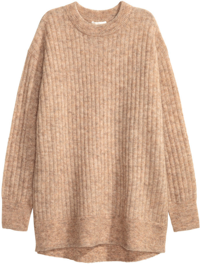 H&M Oversized Mohair Blend Sweater | Where to buy & how to wear