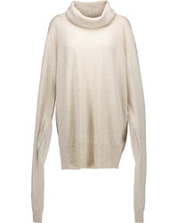 Oversized wool and cashmere blend sweater medium 866969