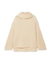 ARJÉ Oversized Wool Silk And Cashmere Blend Turtleneck Sweater
