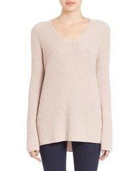 Vince Rib Knit Cashmere Sweater