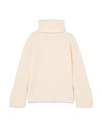 Equipment Uma Oversized Wool And Cashmere Blend Turtleneck Sweater