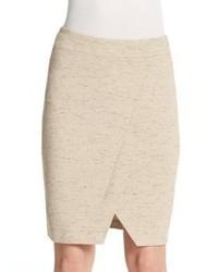 Kensie envelope hem knit pencil skirt medium 1158679