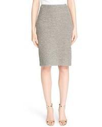 St. John Collection Moorisha Knit Pencil Skirt