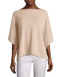 Cashmere knit poncho medium 3748135