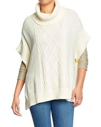 Old Navy Funnel Neck Knit Ponchos
