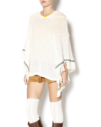 Honey Punch Hooded Poncho
