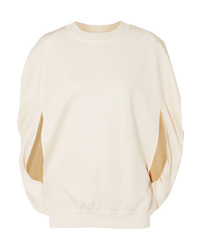 Sonia Rykiel Milano Cape Effect Cupro Sweater