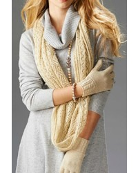 Charlie paige open knit infinity scarf medium 825606