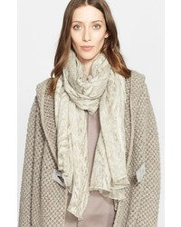 Fabiana Filippi Silk Wool Burnout Scarf
