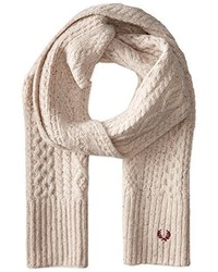 Fred Perry Cable Knit Scarf