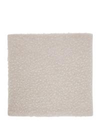 Maison Margiela Off White Wool Gauge 5 Casentino Scarf