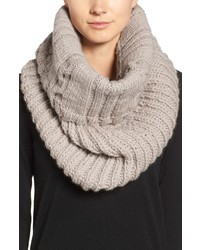 Nirvanna Designs Oversize Cable Knit Wool Infinity Scarf