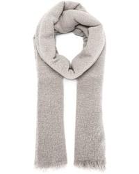 Rick Owens Frayed Knit Scarf