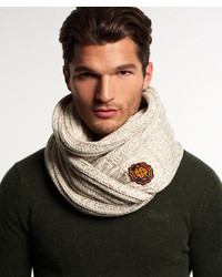 Superdry Super Twist Cable Scarf