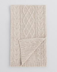 Bloomingdale's The Store At Lattice Cable Scarf