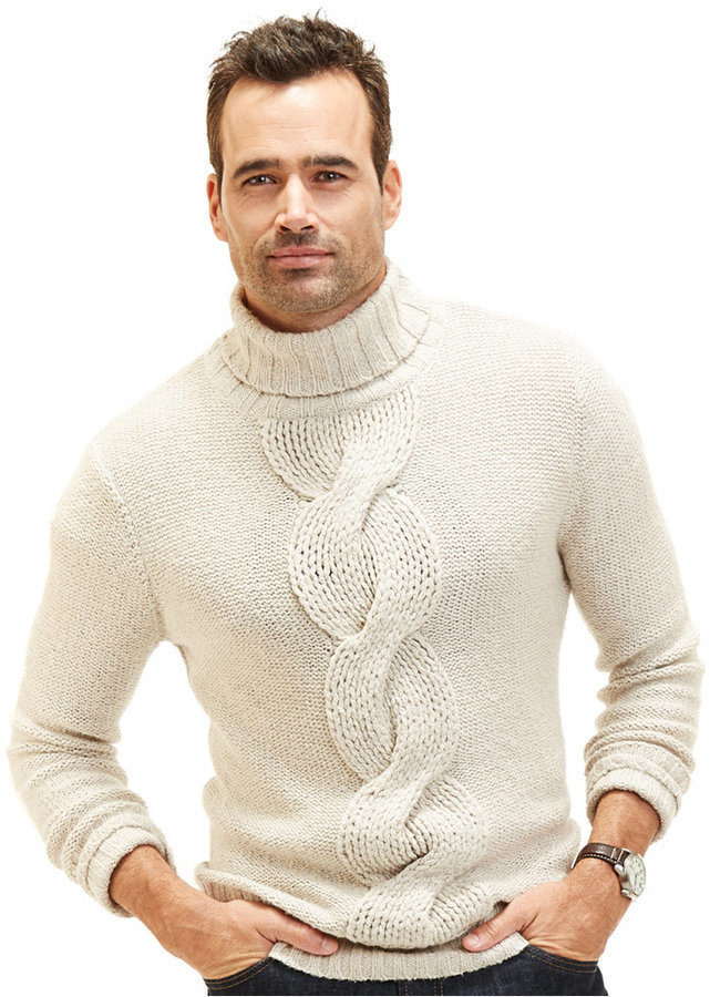 Nautica Cable Knit Turtleneck Sweater | Where to buy & how to wear