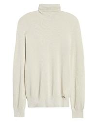 Hugo San Roberto Pique Knit Turtleneck Sweater