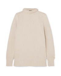 Joseph Sloppy Joe Cotton Bend Turtleneck Sweater