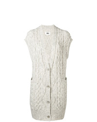 MM6 MAISON MARGIELA Sleeveless Knit Cardigan