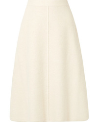Co Alpaca And Wool Blend Midi Skirt
