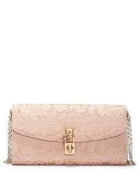 Dolce & Gabbana Dolcegabbana Lace Pouchette Clutch