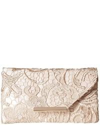 Jessica McClintock Riley Lace Envelope Clutch Clutch Handbags