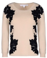 Diane von Furstenberg Short Sleeve Sweater