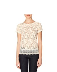 The limited lace layering tee medium 197320