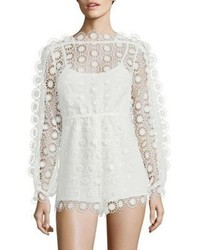 Alice McCall Diamond Dancer Send My Love Lace Romper
