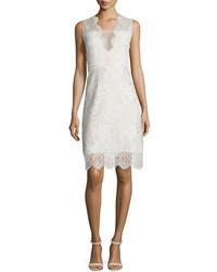 Anne sleeveless v neck lace dress medium 1037214