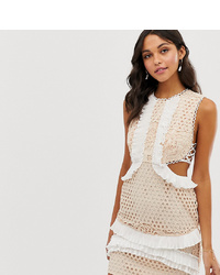 ASOS DESIGN Mini Dress With In Lace With
