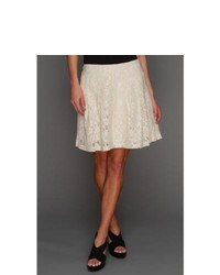 Kensie Soft Floral Lace Skirt Skirt