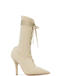 a34567f75c8 Beige Lace-up Ankle Boots for Women