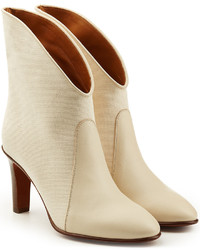 Chloé Ankle Boots With Leather